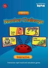 Number Challenge Interactive Brill