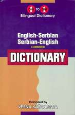 English-Serbian & Serbian-English One-to-One Dictionary