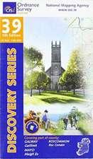 Irish Discovery Series 39. Galway, Mayo, Roscommon 1 : 50 000