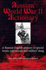 Russian World War II Dictionary