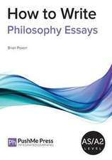 Poxon, B: How to Write Philosophy Essays