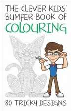 Clever Kids' Bumper Book of Colouring