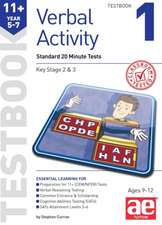 11+ Verbal Activity Year 5-7 Testbook 1