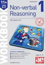 11+ Non-Verbal Reasoning Year 5-7 Workbook 1