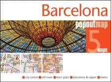 Popout Map Barcelona