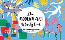 The Modern Art Activiy Book