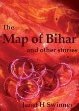 The Map of Bihar