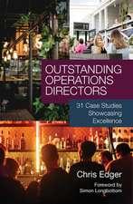 OUTSTANDING OPERATIONS DIRECTORS