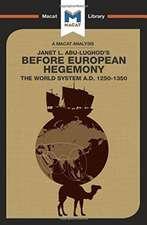 Before European Hegemony