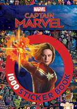 Captain Marvel 1000 Sticker Book