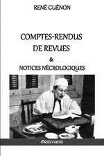 Comptes-rendus de revues & notices nécrologiques