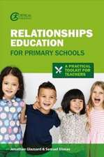 Relationships Education for Primary Schools (2020): A Practical Toolkit for Teachers