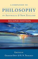 Companion to Philosophy in Australia & New Zealand