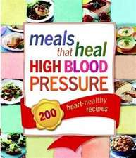 Meals That Heal High Blood Pressure