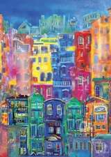 Oil Painting Journal Buildings