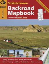 Saskatchewan Backroad Mapbook