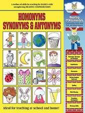 Reading Fundamentals - Homonyms, Synonyms & Antonyms