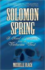 Solomon Spring:  A Novel of the Washita