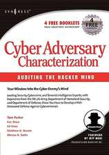 Cyber Adversary Characterization: Auditing the Hacker Mind