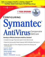 Configuring Symantec AntiVirus Enterprise Edition