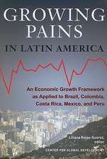 Growing Pains in Latin America: An Economic Growth Framework as Applied to Brazil, Colombia, Costa Rica, Mexico, and Peru