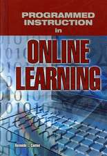 Programmed Instruction in Online Learning