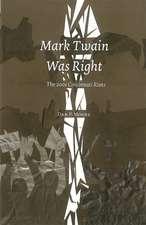 Mark Twain Was Right: The 2001 Cincinnatti Riots