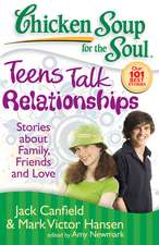 Teens Talk Relationships:  Stories about Family, Friends, and Love