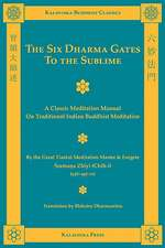 The Six Dharma Gates to the Sublime