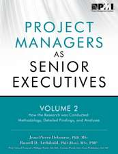 Project Managers as Senior Executives:  How the Research Was Conducted