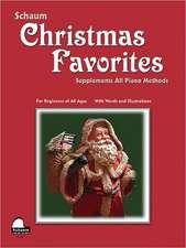 Christmas Favorites: Primer Level Early Elementary Level