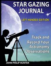 Star Gazing Journal: Left-Handed Edition