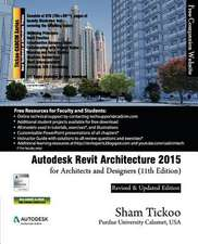 Autodesk Revit Architecture 2015 for Architects and Designers