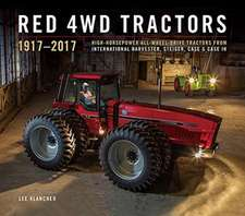 Red 4wd Tractors 1957 - 2017