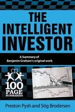The Intelligent Investor, A Summary