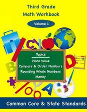 Third Grade Math Volume 1