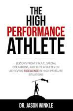The High-Performance Athlete