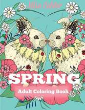 Spring Adult Coloring Book
