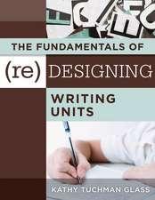 FUNDAMENTALS OF (RE)DESIGNING