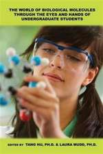 The World of Biological Molecules Through the Eyes and Hands of Undergraduate Students