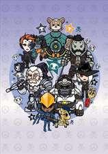 Overwatch Tokidoki X Series 3 Notebook: Heroes Theme