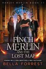 Harley Merlin 11: Finch Merlin and the Lost Map