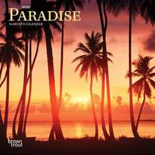 PARADISE 2020 MINI WALL CALENDAR