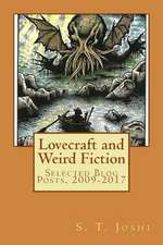 Lovecraft and Weird Fiction
