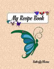 My Recipe Book, Butterfly Theme