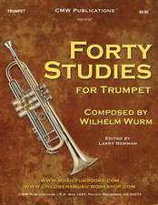 Forty Studies for Trumpet