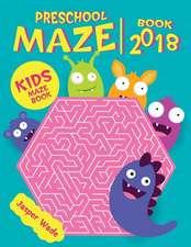 Preschool Maze Book 2018