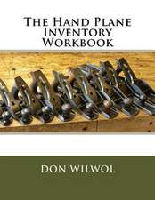 The Hand Plane Inventory Workbook