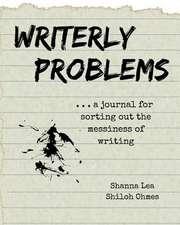 Writerly Problems