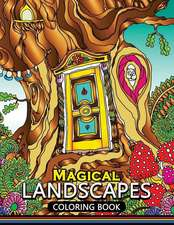 Magical Landscapes Coloring Books